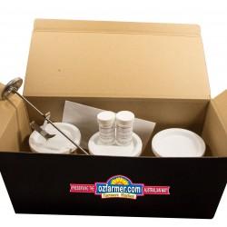 Ozi Ezi Complete Pro-biotic Yoghurt Kit WITH Yoghurt Jars Home Made Yoghurt