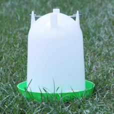 Poultry / Chicken drinker / water feeder Straight Crown 4 or 8 litres