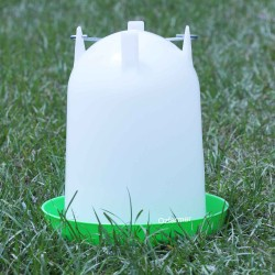 Poultry / Chicken drinker / water feeder Straight Crown 4 litres or 8 litres (no legs) Farming Supplies