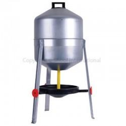 Poultry Drinker Tankstand 25L Zinc