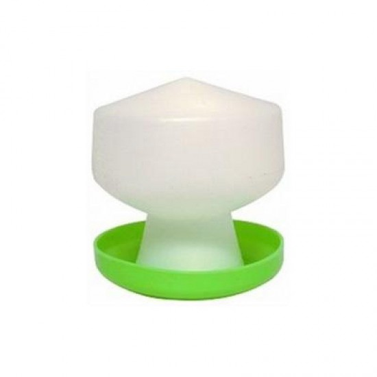 Poultry drinker / water feeder small Crown ball type -  600ml or 1.3 litres