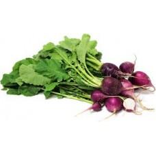 Radish Purple Plum Organically Certified Seed