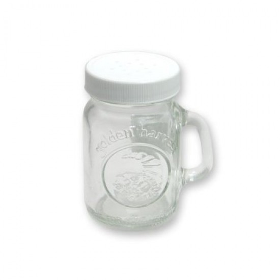Salt and Pepper / Spice shaker Ball Mason Mini Handle-Jar