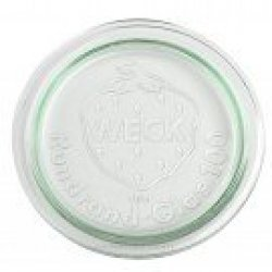 Small Glass Lid For Weck Canning and Preserving Jar