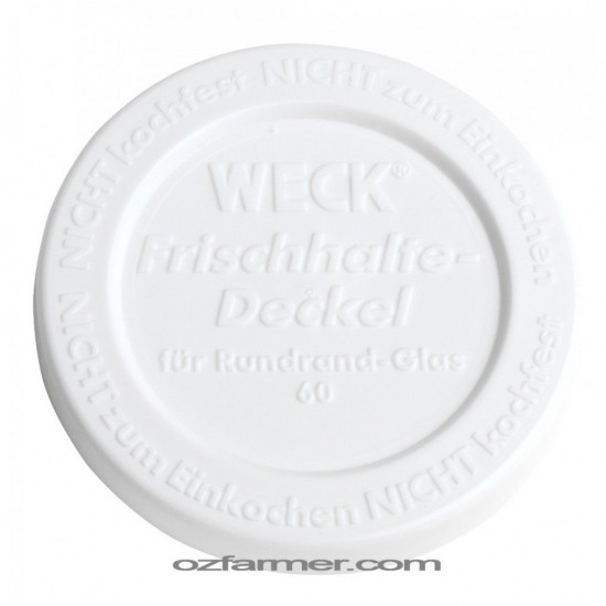 Small Keep Fresh Snap On Lid for Weck Jars BPA FREE
