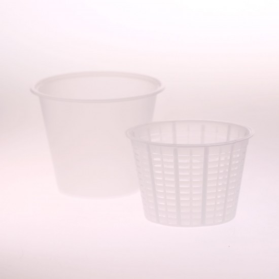 Small Ricotta Container and Basket