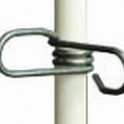 Spring Clip to suit Fibreglass Rod Post for Electric Fence Pack of 50
