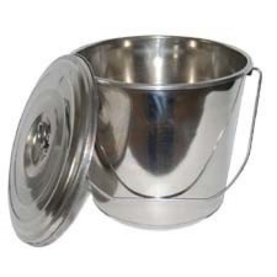 Stainless Milk Bucket 3.5 litres