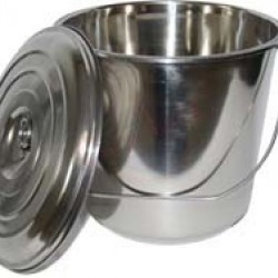 Stainless Milk Bucket 5 litres