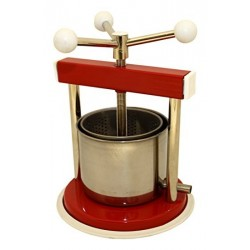 Stainless Steel Wine / Fruit / Cheese Press Italian Made