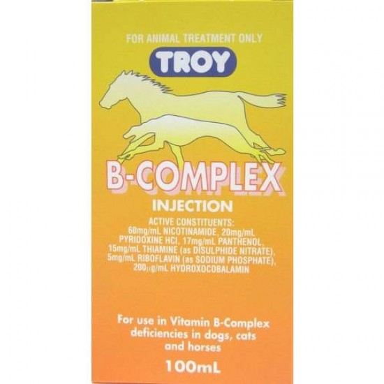Troy Vitamin B Complex 100ml Injectable or Oral Use