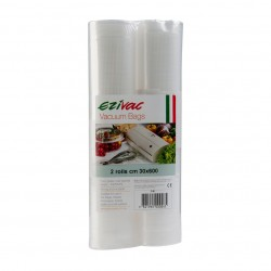 Vacuum Sealing Rolls Ezi Vac 30cm x 6m  - 2 Pack That's 12m in total!!