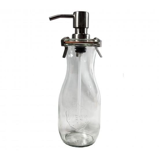 1 x  Weck Jar 1 Litre Soap Dispenser