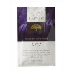 Wine Yeast CY17 Sweet White Blush And Dessert Wines