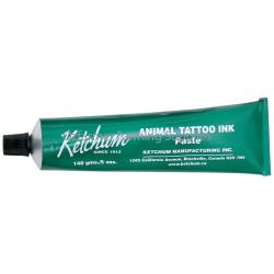 Tattoo Ink Ketchum Green 140gm Tube