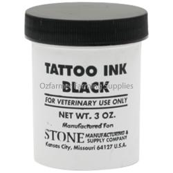 Tattoo Ink Stone Black 3oz/85gm
