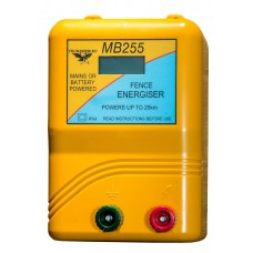 25km Mains / Battery / Solar Electric Fence Energiser