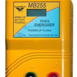 25km Mains / Battery / Solar Electric Fence Energiser