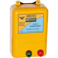35km Mains / Battery / Solar Electric Fence Energiser