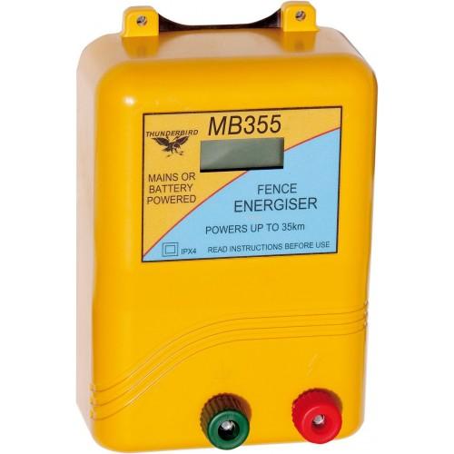 35km Mains / Battery / Solar Electric Fence Energiser