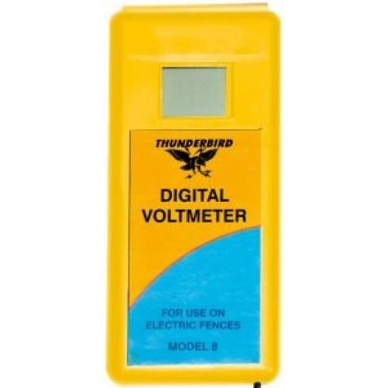Digital Voltmeter for Electric Fence Thunderbird