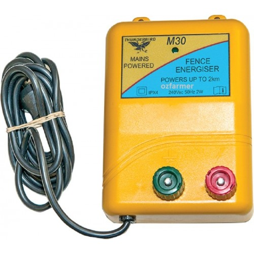 2km Mains Electric Fence Energiser