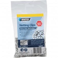 500 x Netting C Clips 2.24 x 16mm